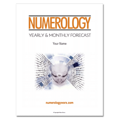 Numerology-Forecast-Report