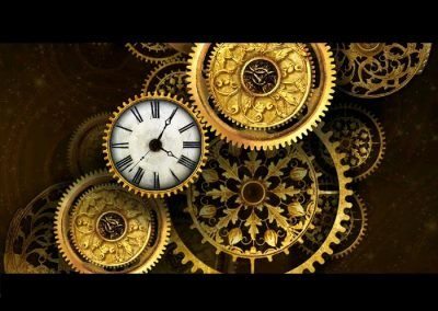 gold-clock-live-wallpaper
